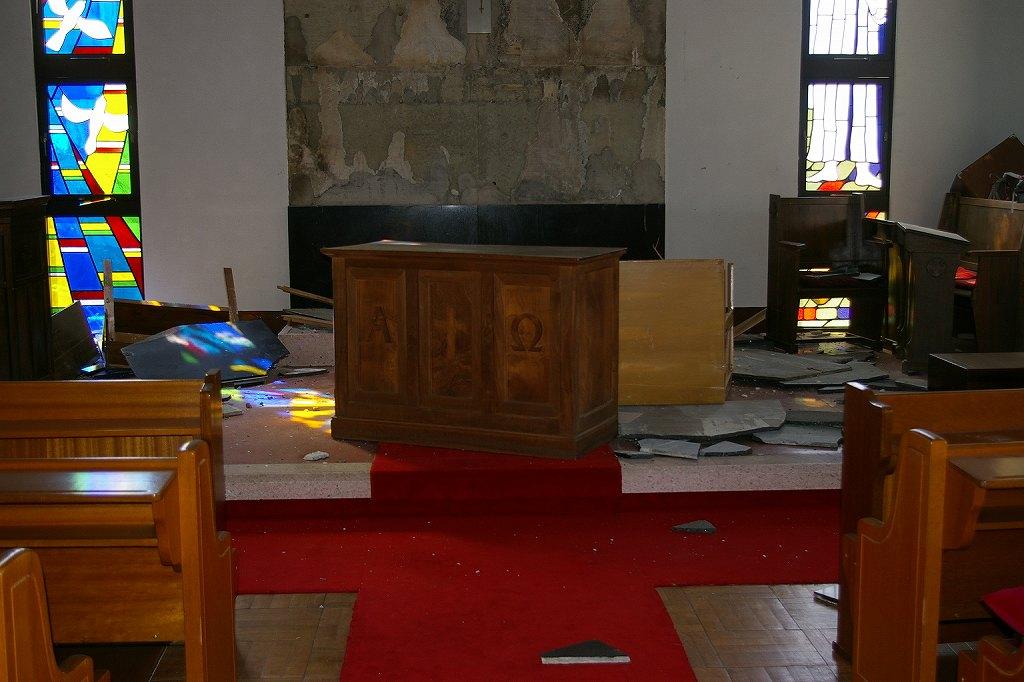 礼拝堂 内部