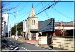 土浦聖バルナバ教会外観